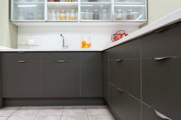 Кухонные ручки-скобы