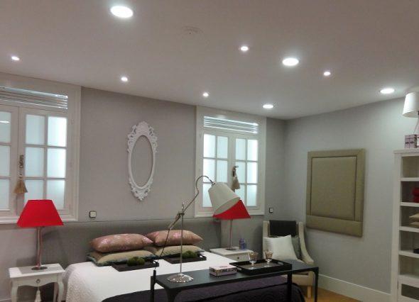 Освещение комнаты без люстры
