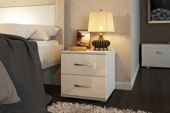 Прикроватные тумбы в спальне