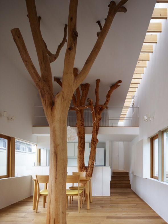 Колонны в виде дерева