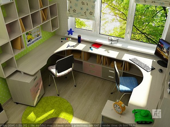 Дизайн комнаты для двоих детей: основные принципы оформления