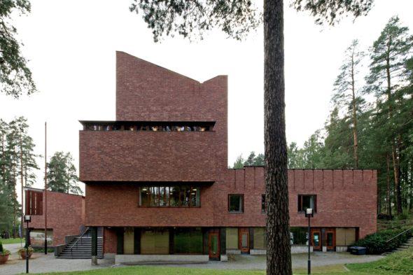 Дом по проекту Алвара Аалто