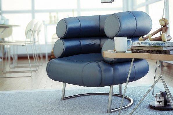 Кресло от Эйлин Грэй в интерьере