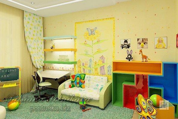 Дизайн комнаты для ребёнка