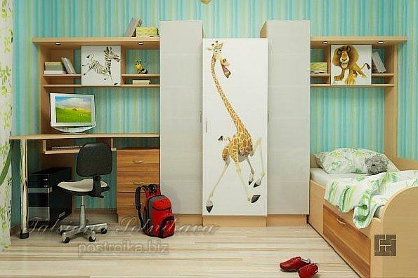 Комната для ребёнка-школьника