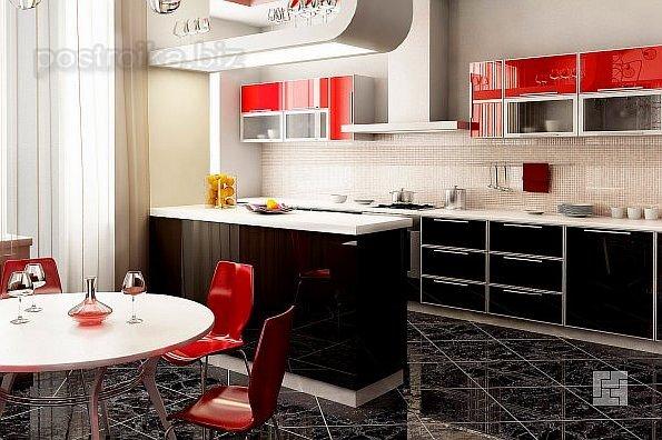 Как грамотно спланировать интерьер кухни, совмещенной с гостиной