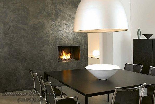 Интерьеры гостиных с камином: добавьте своему дому уюта и выдержанного шика