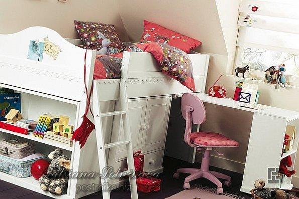 Девичьи фантазии в  мебели для детской комнаты, или Будуар для стильных девочек