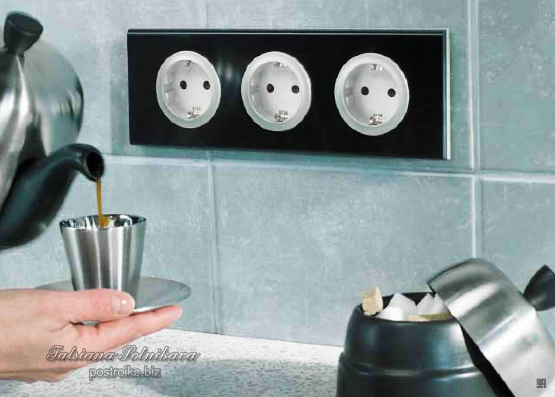 Грамотная установка розеток и выключателей обеспечит комфорт и безопасность  в доме 11b0ce14b93