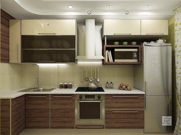 Кухни под дерево – практично, экологично и стильно