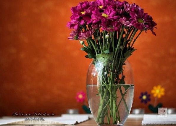 Цветы в интерьере – на фото и вживую