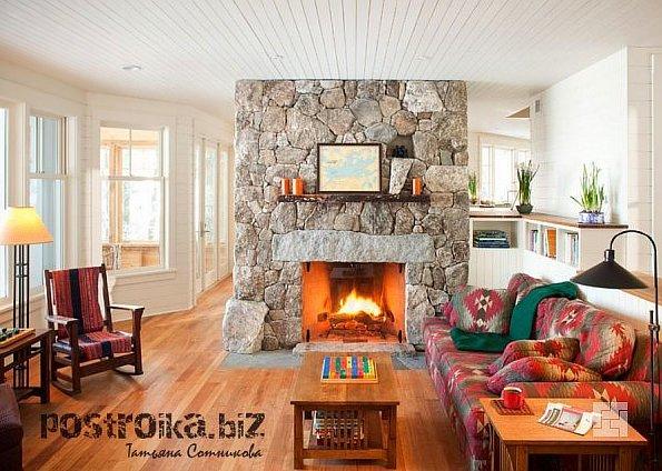 За что мы любим деревянные дома, или Интерьер дома из бруса