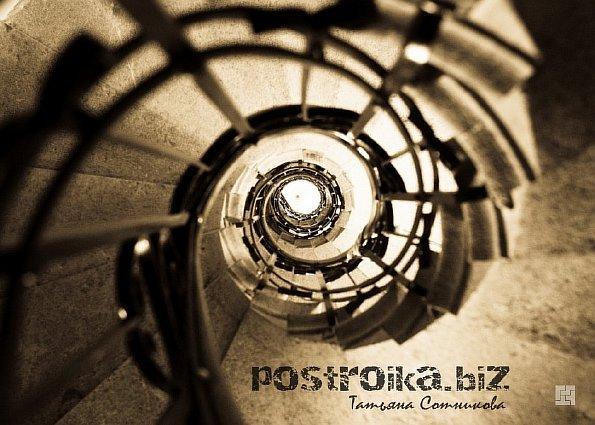 Винтовая лестница своими руками - из металла, из дерева фото