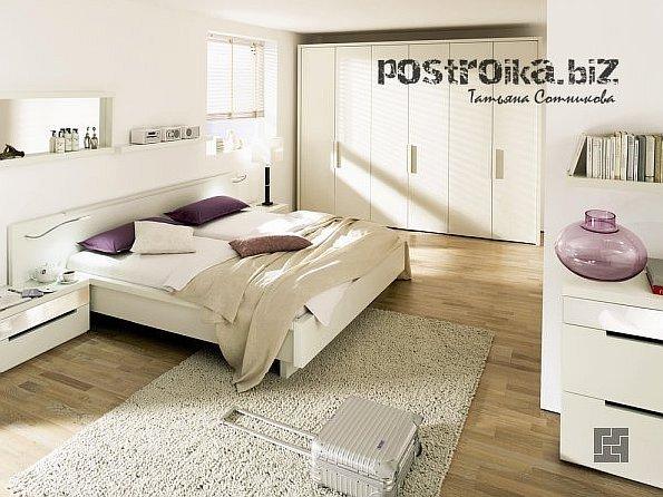 Все гениальное – просто, или Интерьер спальни в стиле минимализм