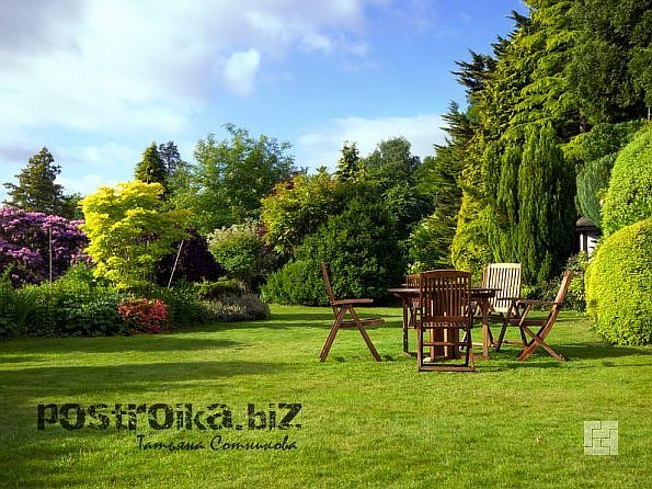 Мебельные изделия для сада