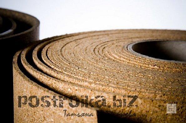 Пробковое покрытие для стен в рулоне