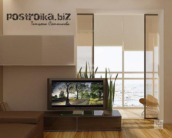 Объединение балконной и жилой зоны