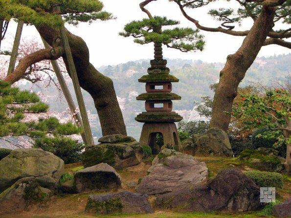 экзотический сад камней