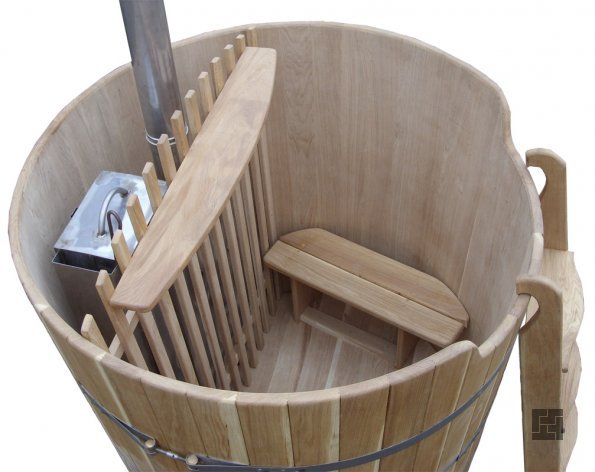 Внутреннее устройство бани фурако