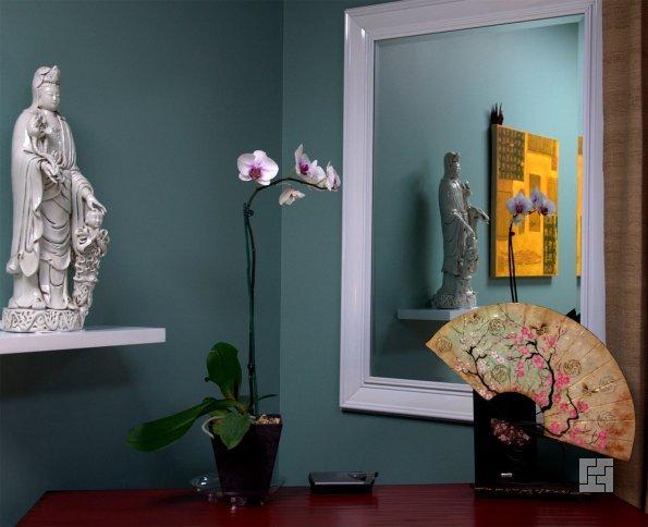 Зеркало в холле по фен-шуй