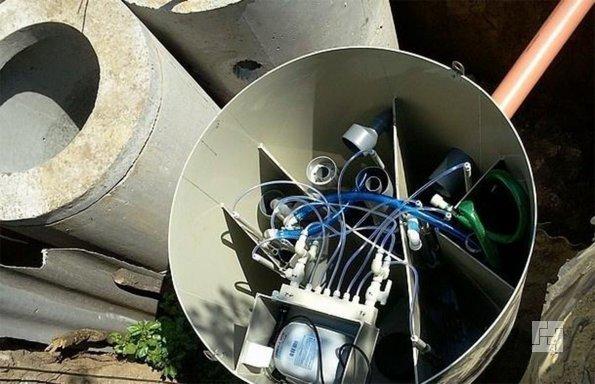 Станция глубокой очистки отходов