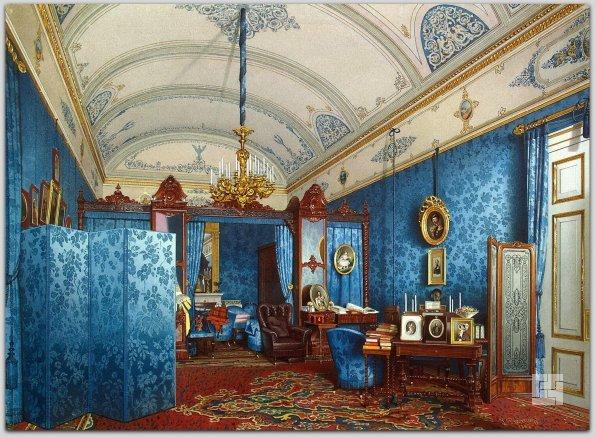 Будуар императрицы Марии Александровны, 1861 год