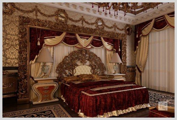 Оформление будуара в стиле барокко