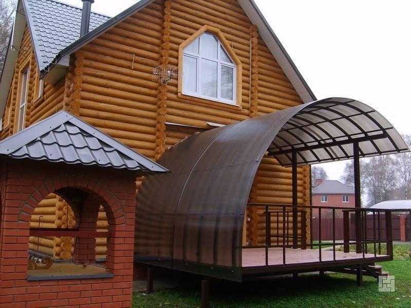 Придомовое крыльцо: несколько идей оригинального дизайна
