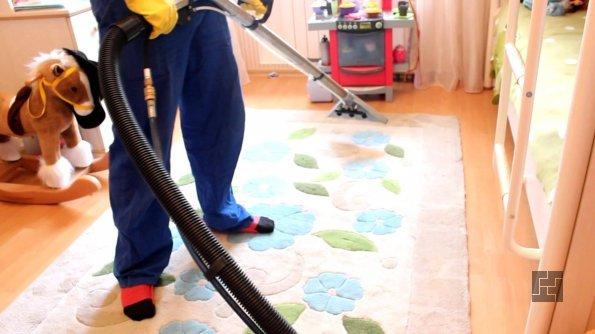 химическая чистка ковролина