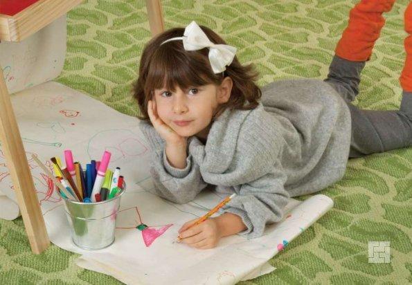 ковролин в детской комнате
