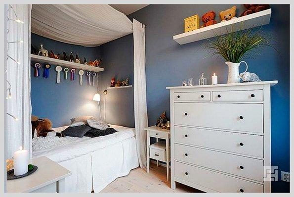 Детская комната, оформленная в скандинавском стиле