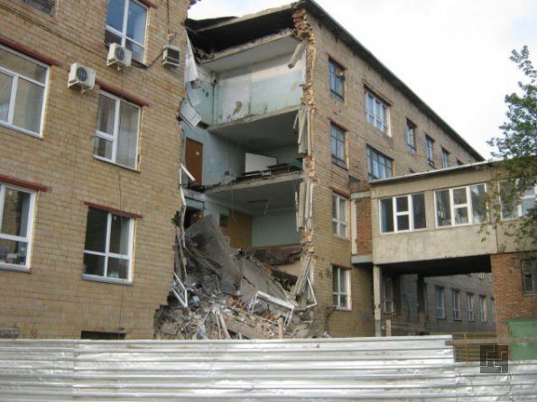 обвал здания в случае неправильной перепланировки