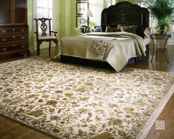 Как выбрать ковёр в спальню