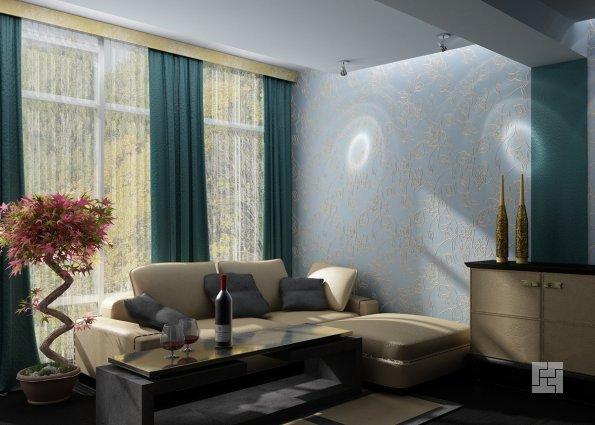 При выборе штор следует учитывать цвета мебели