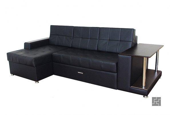 Чёрный диван