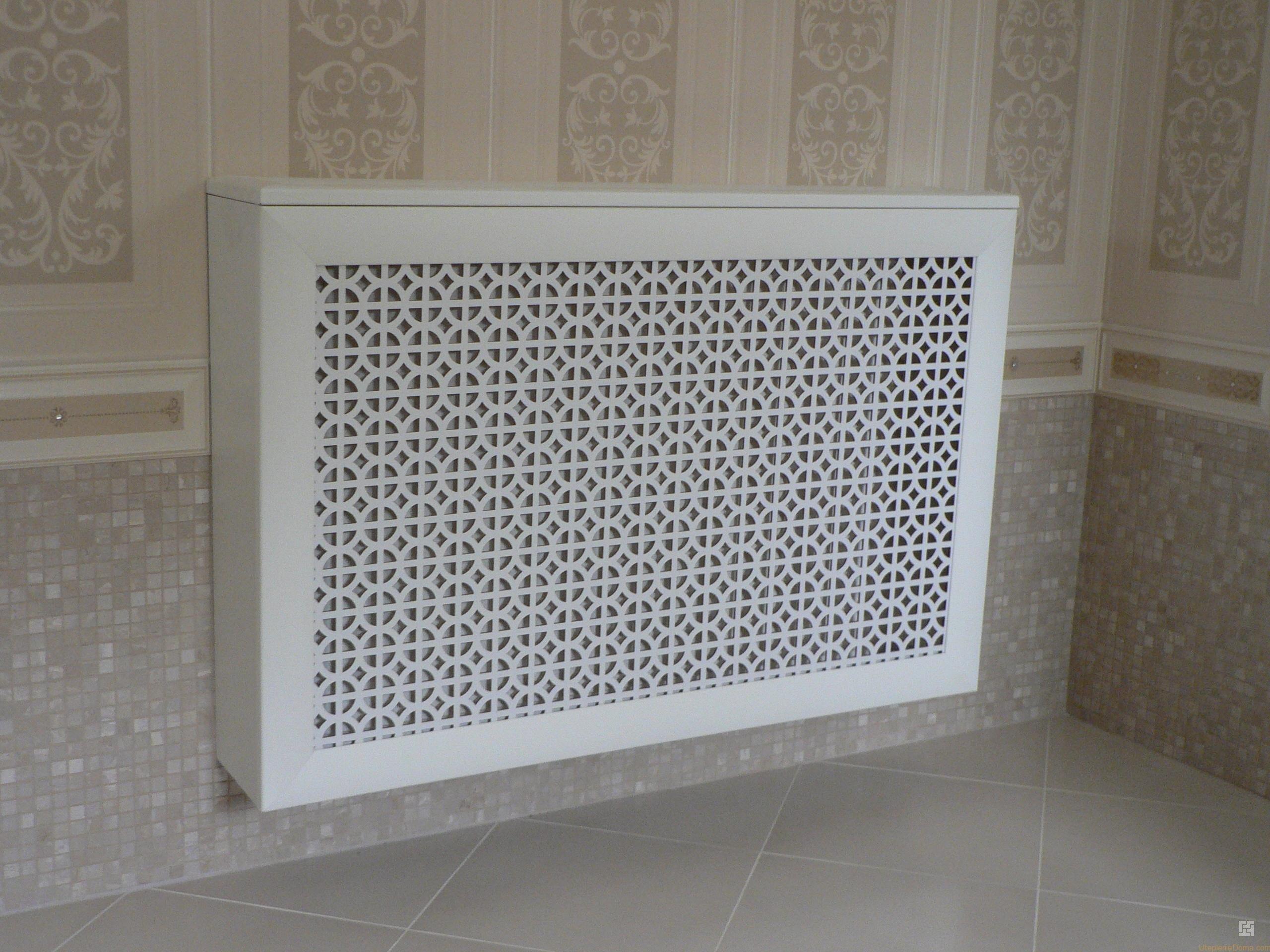 Декоративный экран для батареи отопления своими руками