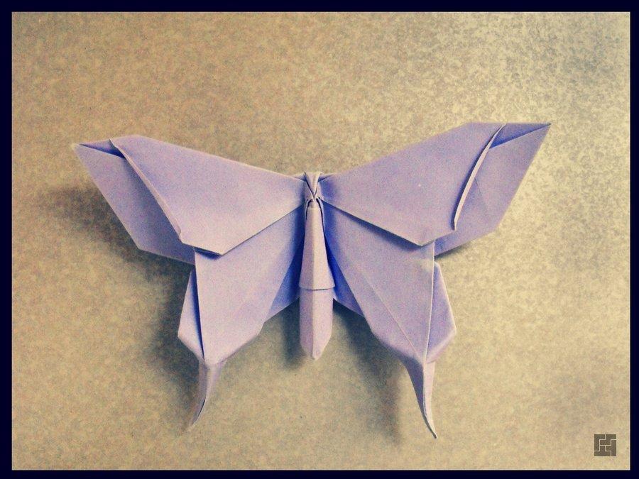 Как сделать бумажную бабочку фото 842