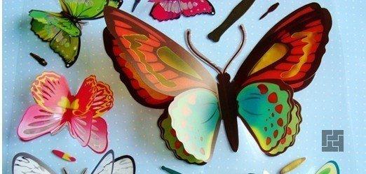 Бабочки из полиэтиленовой пденки