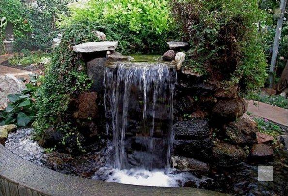 мини-водопад