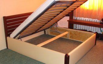Каркас деревянной кровати