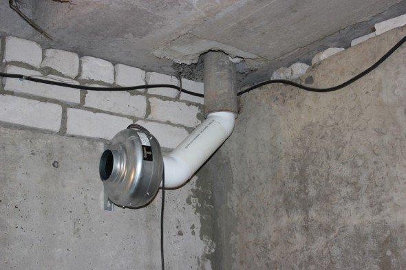 Принудительная вентиляция в гараже