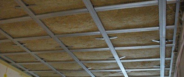 Потолок с шумоизоляцией