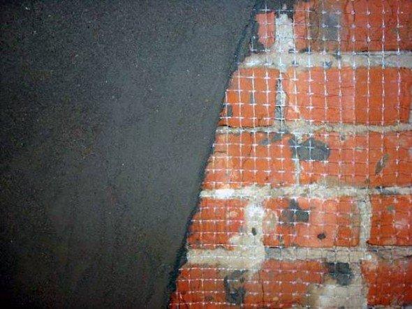 Покрытие печи цементным раствором