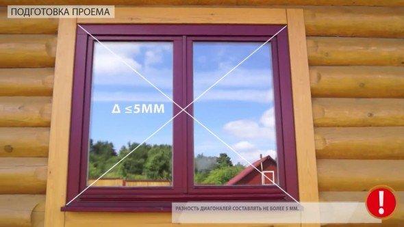Проверка качества оконного проёма для установки рольставен