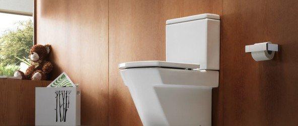 Унитаз в ванной комнате