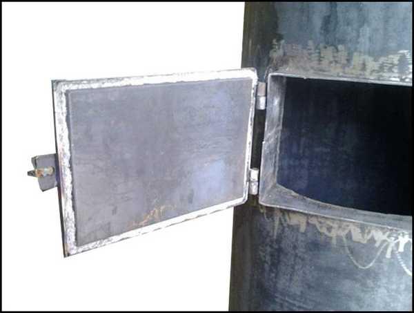 Уплотнение дверцы котла своими руками 613