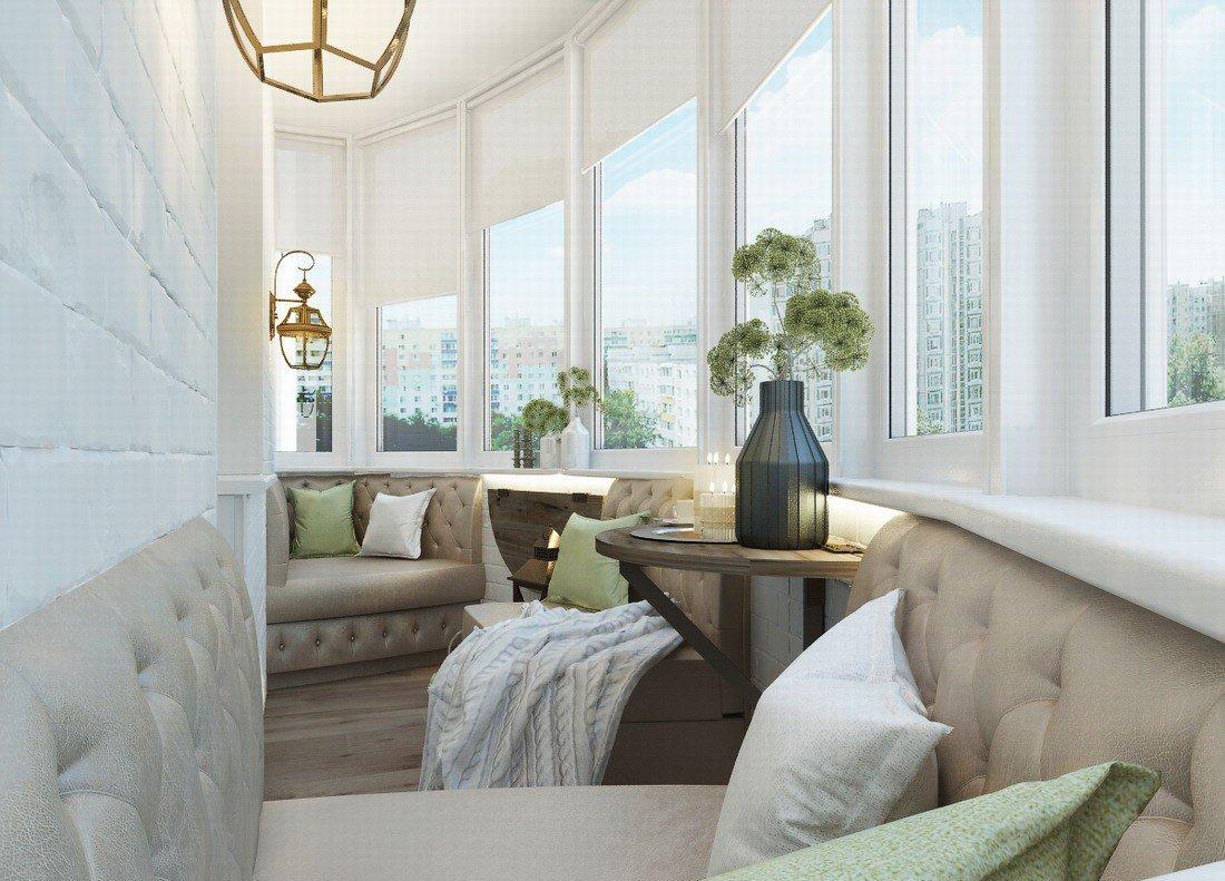 Поэтапный комплекс работ по отделке и оформлению балкона по всем правилам
