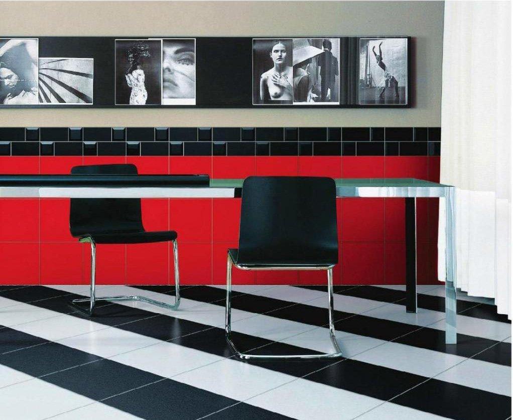 Дизайн пола из плитки: варианты укладки в ванной, гостиной и на кухне