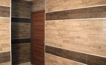 Ламинат на стене — необычный и красивый дизайн!