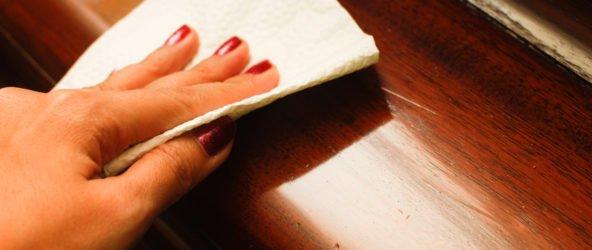 Как быстро и легко устранить царапины на мебели